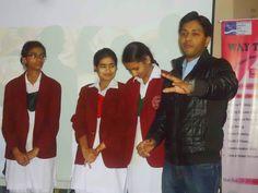"""WE ARE THE BEST"" Motivational Personality Development and Soft Skills Session organized at Bal Vishwa Bharti Public Sen. Sec. School, Bani Park, Jaipur . Training by India's favourite leading Motivational Trainer, Corporate Trainer, Motivational Speaker and Speaker – Shikhar Prajapati"