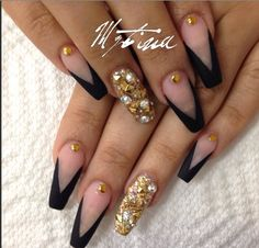 How To: Squaletto Nails