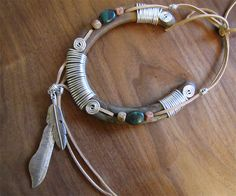 LUCK CATCHER  Recycled and Hand tied Horseshoe by FernwoodArt, $42.00