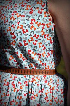 Cutest ever fox fabric
