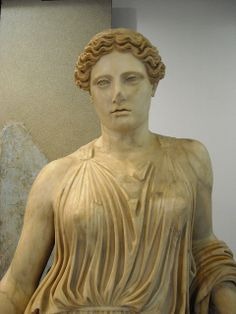 """Peplophoros / Demeter"" from the Villa of the Papyri or Pisoni at Herculaneum - Augustan age - End of the first century BC - Antiquarium of Boscoreale / Naples Ancient garb Roman"