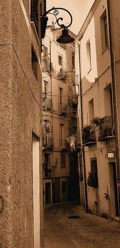 Historical Center - Cagliari - Sardinia - Italy