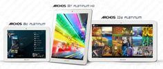 Archos presenta la nuova serie Platinum di tablet Android