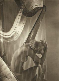 PHILLIPS : NY040211, Horst P. Horst, Lisa with Harp, Paris