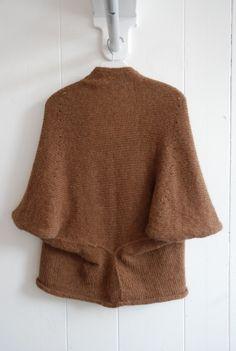 chelliswilson.: Primoeza Cloudy Day Cardigan in bronze. 100% brushed alpaca. one size (open).  $265.00