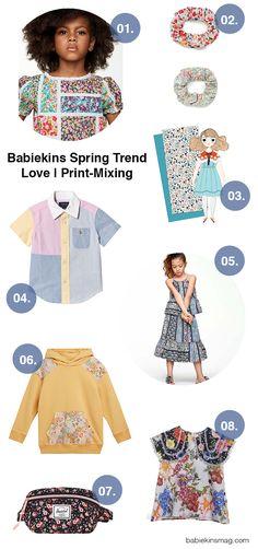 Babiekins Spring Trend Love | Print-Mixing | Babiekins Magazine