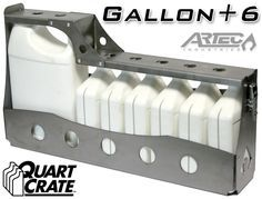 Quart Crate - Gallon + 6 qrts No more oil bottles bouncing around the back of your car, truck, suv, boat or The Quart Crate neatly and securely organizes your extra automotive fluids. Jeep Mods, Truck Mods, Rv Mods, Truck Parts, Expedition Trailer, Expedition Vehicle, Motorcycle Camping, Camping Gear, Jeep Wj