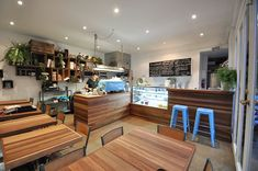 Le Petit Prince – 1A Mercer Rd, Armadale. Recycled timber cafe fitout