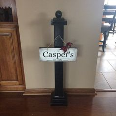 Welcome Sign Post image 4 Home Projects, Home Crafts, Craft Projects, Project Ideas, Outdoor Crafts, Outdoor Decor, Porch Welcome Sign, Wooden Posts, Crafts To Make And Sell