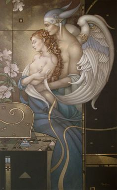 Michael Parkes - Fine Art Painting