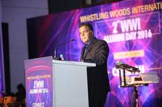 """Raj Nayak, CEO, COLORS TV joined us at the celebration. He said, """"I could never imagine that this is the way you'll celebrate your alumni day. It is a fantastic experience for me to be here today."""""""