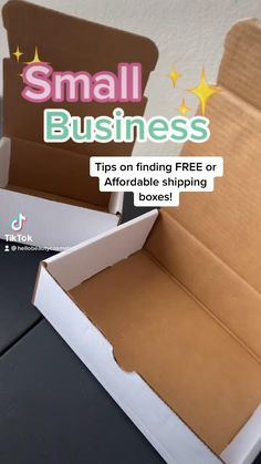 Best Small Business Ideas, Small Business Plan, Small Business Marketing, Shipping Supplies, Shipping Boxes, Etsy Business, Craft Business, Successful Business Tips, Small Business Organization