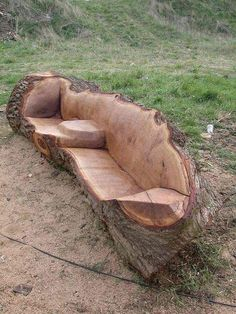 Awesome idea for fire pit furniture!