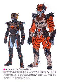 Kamen Rider, Character Drawing, Character Concept, Armor Concept, Concept Art, Power Rangers Operation Overdrive, Go Go Power Rangers, Monster Design, Monster Hunter