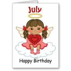 July Birthstone Angel Brunette Birthday Card  http://www.zazzle.com/july_birthstone_angel_brunette_birthday_card-137006030808644068?rf=238631258595245556