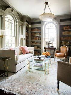 A 1920s Jewel Box by Suzanne Kasler | The Glam Pad | Atlanta Homes & Lifestyles