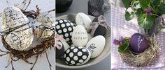 moderne effekte dekorieren-ostereier frühling-schmuck basteln