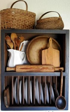 scandinavian-furniture-kitchen-interior-design kitchen kitchen modern kitchen design by dana for the kitchen. Country Kitchen, New Kitchen, Vintage Kitchen, Kitchen Decor, Kitchen Rustic, Country Cupboard, Primitive Kitchen, Wooden Kitchen, Primitive Bedroom