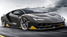 LAMBORGHINI CENTENARIO: En el marco del 100° aniversario del nacimiento de Ferrucio Lamborghini, la marca italiana lanzó el Centenario, un superdeportivo basado en el Aventador.Destaca por estar completamente cubierto de fibra de carbono, lo cual hace que su peso sea de solo 1.520 kg. Lleva un motor V12 de 770 HP y su velocidad máxima superará los 350 km/h. Solo se producirán 20 unidades. ¿El precio? Cerca de 2 millones de dólares. (fotos: Net Car Show)