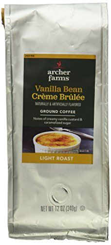Archer Farms Vanilla Bean Creme Brulee 12 Ounce Light Roast Coffee >>> You can find more details by visiting the image link.