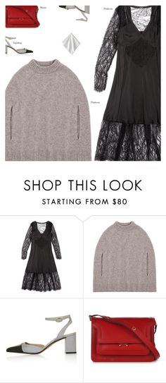 """""""A Winning Thakoon Combination"""" by amberelb ❤ liked on Polyvore featuring Topshop and Marni"""
