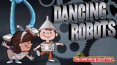Brain Breaks - Dance Song - Dancing Robots - Children's Songs by The Learning Station - Pink Unicorn Children Dance Songs, Kids Songs, Silly Songs, Gym Songs, Math Songs, Kindergarten Songs, Preschool Songs, Movement Activities, Music And Movement