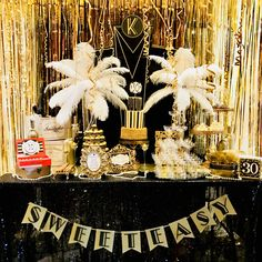 Great gatsby party. Sweet bar. www.createdbyxti.com