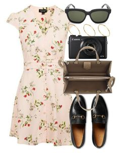"""Untitled #5164"" by rachellouisewilliamson on Polyvore featuring Gucci and ASOS"