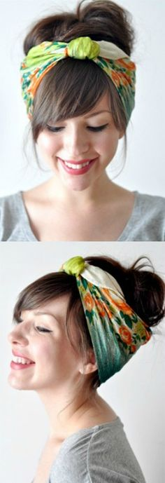 DIY Head Scarf Tutorial