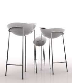 Bad egg - cafe and bar stools by marz designs - coco reynold Modern Chairs, Modern Furniture, Furniture Design, Cool Chairs, Bar Chairs, Kitchen Chairs, Kitchen Built Ins, Contemporary Bar Stools, Designer Bar Stools