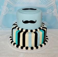 moustache cake - Google Search