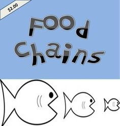 12 Slides that define food chains,  including examples and non examples, and 6 additional sets of cards that can be printed for a quick food ...