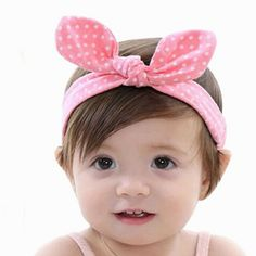 NEW 10X//Set Baby Girls Big Cute Hair Bows Rabbit Ear Hair Clips-Baby Girl