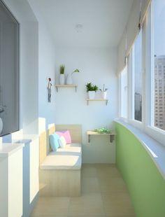 Great idea small balcony