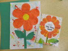 The Tiny Seed preschool art
