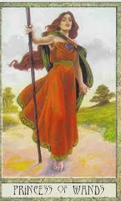 Princess of Wands - Druid Craft Tarot
