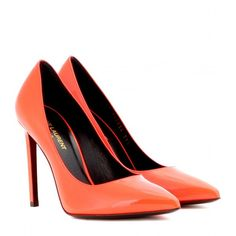 Saint Laurent Paris Neon Patent-Leather Pumps and other apparel, accessories and trends. Browse and shop 55 related looks. Patent Shoes, Patent Leather Pumps, Leather Shoes, Neon Pumps, Pumps Heels, Only Shoes, Top Shoes, Women's Shoes, Crazy Shoes