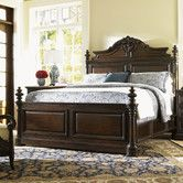 Found it at Wayfair - Island Traditions Amherst Carved Panel Bed