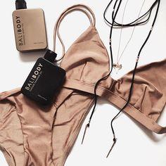 Natural Tanning Oil, Lotion & Skincare Range – Bali Body US Gold Bikini, Chanel, Sabo Skirt, Mocca, Lingerie, Getting Wet, Swimwear Fashion, Bikini Bodies, Summer Of Love