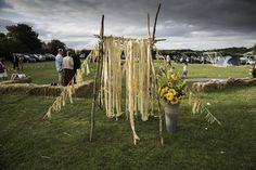 #altar #recycle #festivalwedding #rustic #festival #bozfest
