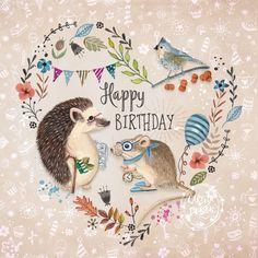 Animals & Birds Illustration by Caroline Bonne Muller at Cartita Design