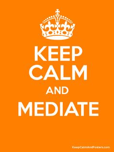Mediate...@Young Rita  @Sara Figal