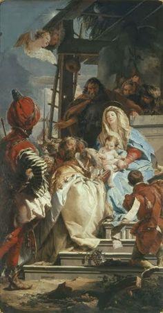 #AdorationoftheMagi #Tiepolo From Glob-Arts