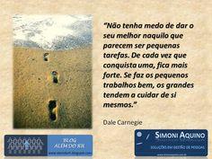 Pequenos trabalhos, por Dale Carnegie