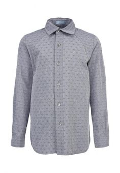 Рубашка Choupette для мальчиков. Цвет: серый. Сезон: Осень-зима 2013/2014. С бесплатной доставкой и примеркой на Lamoda. http://j.mp/1l4cI96