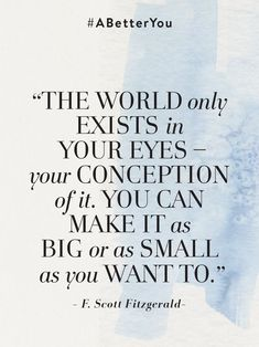 Quote of the day   #ABetterYou Anthropologie