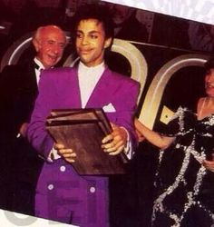 Prince • 1986 'Parade' (Under The Cherry Moon) Era - Collecting his ASCAP Awards in 1986, or was it Minneapolis Music Awards?