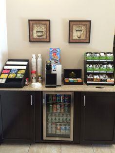 Coffee Bar Spa Interior, Nail Spa, Liquor Cabinet, Envy, Bar, Coffee, Furniture, Home Decor, Kaffee