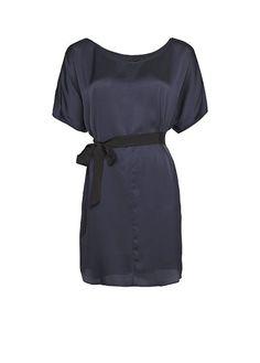 MANGO - Oversize satin-sheen dress