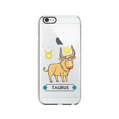 Amazon.com: Cute Zodiac Signs Clear Transparent Plastic Phone Case Phone Cover for Iphone 6 6s_ SCORPIOshop (VA282, iphone 6): Cell Phones & Accessories